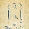 1896 Dental Excavator Patent Vintage by Nikki Marie Smith
