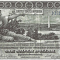 1896 Education Series Silver Certificate Face by Charles Robinson