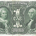 1896 Educationseries Silver Certificate Obverse by Charles Robinson