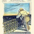 1897 - Le Rire Journal Humoristique Paraissant Le Samedi Magazine Cover - July 31 - Color by John Madison