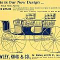 1898 - Hawley King And Company - Surrey Buggy Advertisement - Color by John Madison