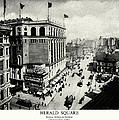 1898 Herald Square New York City by Historic Image