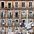 18th Century Building In Lisbon by Jose Elias - Sofia Pereira