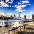 River Thames View by David Pyatt
