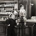 Silent Film Still: Drinking by Granger
