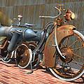 1900 Dual Rocket Steambike by Stuart Swartz