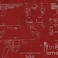 1900 Landstad Automatic Revolver Patent by Doc Braham