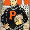 1901 - Princeton University Football Poster - Color by John Madison