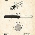 1902 Baseball Bat Patent by Bill Cannon