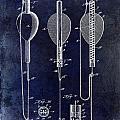 1902 Self Strike Fish Float Patent by Jon Neidert