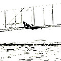 1902 Wright Brothers Glider Tests by R Muirhead Art