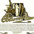 1903 - Columbia Motor Carriage Advertisement by John Madison