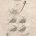 1903 Golf Club Patent by Dan Sproul