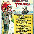 1904 Cooks Conduted Tours Vintage Travel Art by Presented By American Classic Art