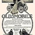 1904 - Oldsmobile Automobile Advertisement by John Madison