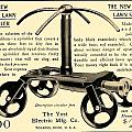 1905 - Yost Electric Manufacturing Company - Toldeo Ohio - Lawn Sprinkler Advertisement by John Madison
