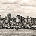 1906 Manhattan Panorama by Bill Cannon