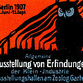 1907 Berlin Exposition Poster by Historic Image