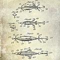 1907 Fishing Lure Patent by Jon Neidert