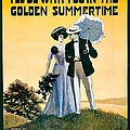 1908 - I'll Be With You In The Golden Summertime - Lew Bonner And J.j. Bachman - Sheet Music - Color by John Madison
