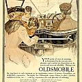 1909 - Oldsmobile Advertisement - Color by John Madison