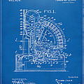 1910 Cash Register Patent Blueprint by Nikki Marie Smith