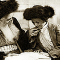 1910 Studying The Torah by Historic Image