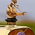 1911 Fiat Tipo 6 Holbrook 4 Passenger Demi-tonneau Hood Ornament by Jill Reger