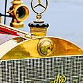 1911 Mercedes 50 Hp Maythorn Tourer Hood Ornament by Jill Reger