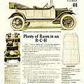 1912 - R C H Automobile Advertisement by John Madison