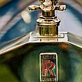 1912 Rolls-royce Silver Ghost Cann Roadster Skull Hood Ornament by Jill Reger