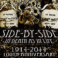 1914 - 2014 Side By Side - In Death As In Life by Jose A Gonzalez Jr
