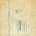1914 Flute Patent - Vintage by Nikki Marie Smith