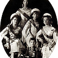 1914 The Romanov Children by Historic Image