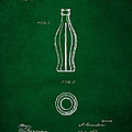1915 Coca Cola Bottle Design Patent Art 4 by Nishanth Gopinathan