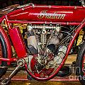 1915 Indian Model D1 by Paul Mashburn