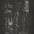 1915 Ithaca Shotgun Patent Gray by Nikki Marie Smith