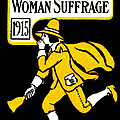 1915 Vote Yes On Woman's Suffrage by Historic Image
