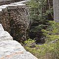 1917 Carriage Road Bridge Jordan Stream Acadia Maine by Lena Hatch