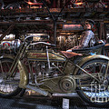 1917 Harley Davidson by David B Kawchak Custom Classic Photography