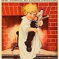 1917 - Modern Priscilla Magazine Cover - December by John Madison