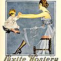 1918 - Luxite Hosiery Advertisement - Color by John Madison