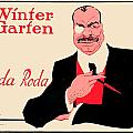 1918 - Wintergarten Poster - Roda Roda - Stephan Krotowski - Color by John Madison