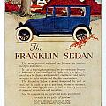1919 - Franklin Sedan Advertisement - Color by John Madison