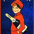1920 - Freixenet Wines - Advertisement Poster - Color by John Madison