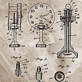 1920 Clock Patent by Dan Sproul