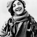 1920s 1930s Smiling Woman Dressed by Vintage Images