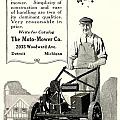 1921 - Moto Mower Lawnmower Advertisement by John Madison
