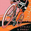 1921 - Van Hauwaert Bicycle Belgian Advertisement Poster - Color by John Madison