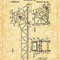 1921 Bascule Iron Bridge Patent by Barry Jones
